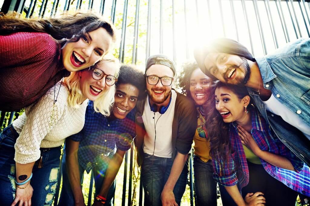 bonding community friends team togetherness unity concept